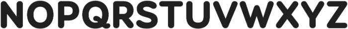 Booster Next FY Black otf (900) Font UPPERCASE