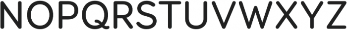 Booster Next FY Medium otf (500) Font UPPERCASE