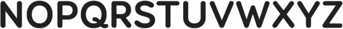 Booster Next FY ttf (700) Font UPPERCASE