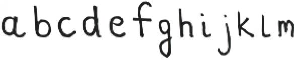 Bootes Regular otf (400) Font LOWERCASE