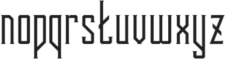 Bootleggers Simple otf (400) Font LOWERCASE