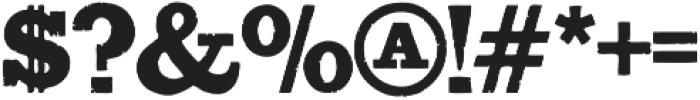 Bootstrap Alternate Regular otf (400) Font OTHER CHARS