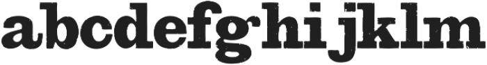 Bootstrap Alternate Regular otf (400) Font LOWERCASE