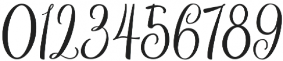 Bordellia otf (400) Font OTHER CHARS