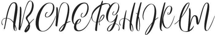 Bordellia otf (400) Font UPPERCASE