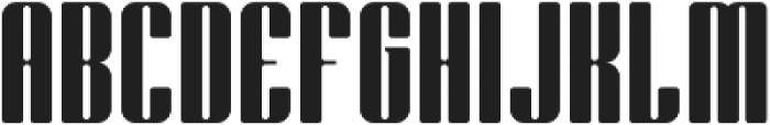 Bornco otf (400) Font UPPERCASE