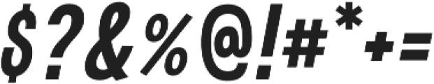 Boronia Bold Italic otf (700) Font OTHER CHARS