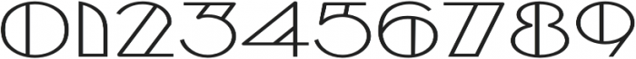Borotello Expanded Bold otf (700) Font OTHER CHARS