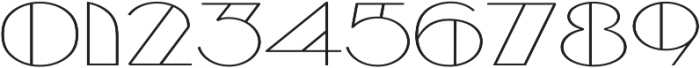 Borotello Expanded Regular otf (400) Font OTHER CHARS