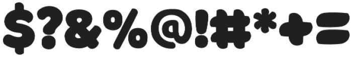 Borsok Regular otf (400) Font OTHER CHARS