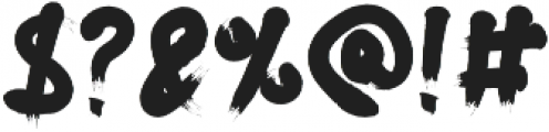 Borsta otf (400) Font OTHER CHARS