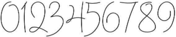 Bosanity Light otf (300) Font OTHER CHARS