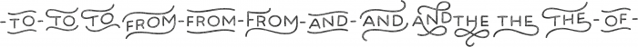 Bosk Hand Elements Press otf (400) Font UPPERCASE