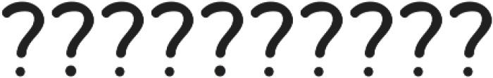 Bosk Hand Elements Press ttf (700) Font OTHER CHARS