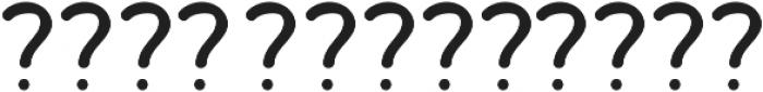Bosk Hand Elements Press ttf (700) Font LOWERCASE