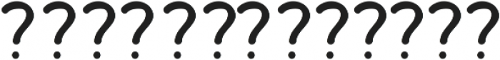 Bosk Hand Elements otf (400) Font LOWERCASE