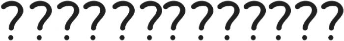 Bosk Hand Elements otf (700) Font LOWERCASE