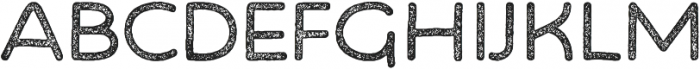 Bosk Hand Press otf (400) Font UPPERCASE