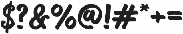 Bosk otf (400) Font OTHER CHARS