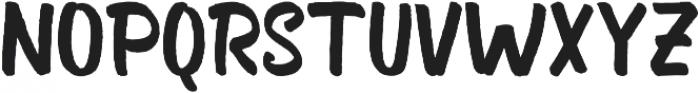Bosk otf (400) Font UPPERCASE