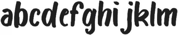 Bosk otf (400) Font LOWERCASE