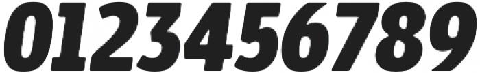 Bosphorus 40 Condensed 46 Black Italic otf (900) Font OTHER CHARS