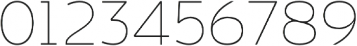 Bosphorus 60 Expanded 61 Thin otf (100) Font OTHER CHARS