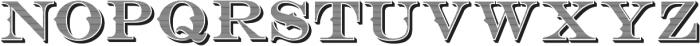 Bosque Classic Inner Press ttf (400) Font UPPERCASE