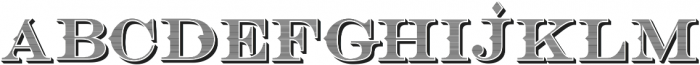 Bosque Classic Inner Press ttf (400) Font LOWERCASE