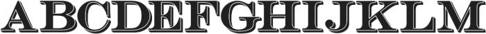 Bosque Reg Shadow otf (400) Font UPPERCASE