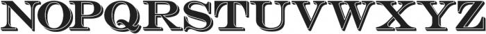 Bosque Reg Shadow otf (400) Font LOWERCASE