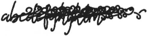 Bostion script swirls 2 otf (400) Font LOWERCASE