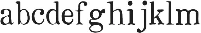 Boston 1851 Light otf (300) Font LOWERCASE