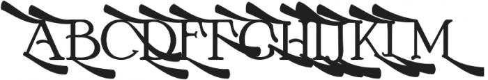 Boston-Alternate 4 ttf (400) Font UPPERCASE