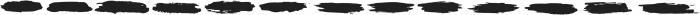 Boston Marker Bonus Shapes ttf (400) Font LOWERCASE