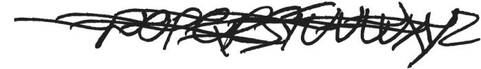 Boston Marker Left Swashes otf (400) Font UPPERCASE