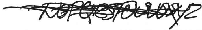 Boston Marker Left Swashes otf (400) Font LOWERCASE