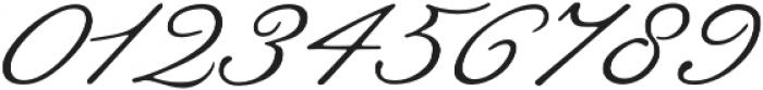 Botanical Scribe otf (400) Font OTHER CHARS