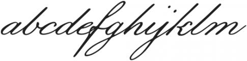 Botanical Scribe otf (400) Font LOWERCASE