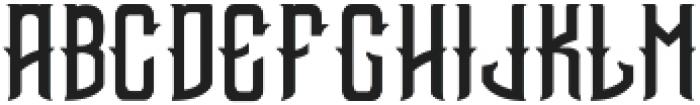 Bottle of Gin otf (400) Font UPPERCASE
