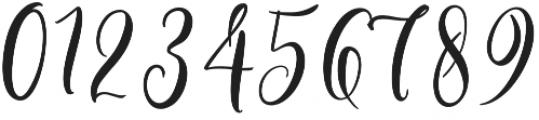 Bottomline Regular otf (400) Font OTHER CHARS