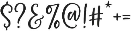 Bottoms Up Love Sans otf (400) Font OTHER CHARS