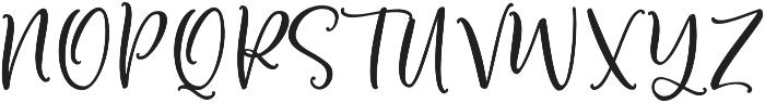 Bottoms Up Love otf (400) Font UPPERCASE
