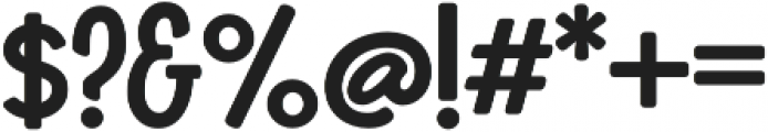 Boucherie Sans otf (700) Font OTHER CHARS