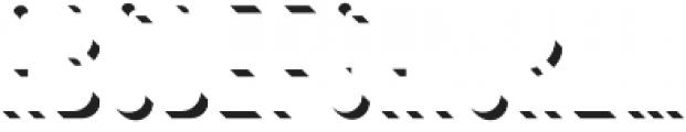 Bouchers Black Shadow otf (900) Font LOWERCASE