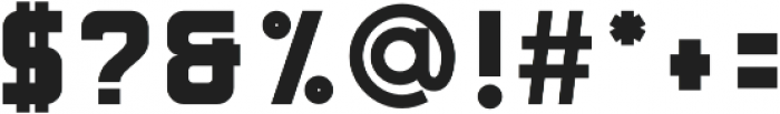Bouchers Sans 2.0 otf (400) Font OTHER CHARS