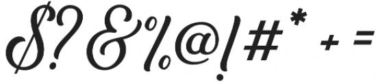 Bouchers Script 2.0 otf (400) Font OTHER CHARS