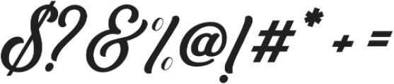 Bouchers X.0 otf (400) Font OTHER CHARS