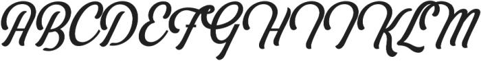 Bouchers X.0 otf (400) Font UPPERCASE
