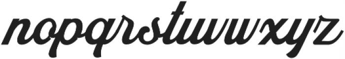 Bouchers X.0 otf (400) Font LOWERCASE